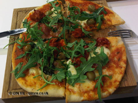 Pizza made by Qin Xie