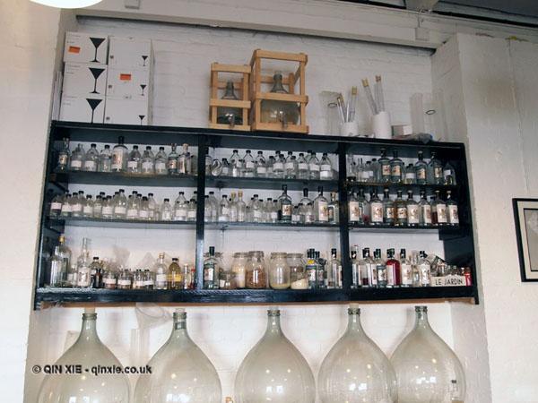 Botanicals at Sipsmiths Distillery