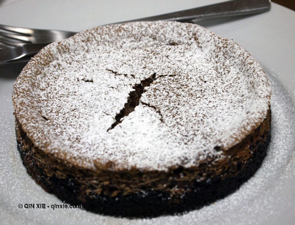 Fig frangipane tart, dessert and wine matching at Leiths School of Food and Wine