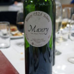 Maury, dessert and wine matching at Leiths School of Food and Wine