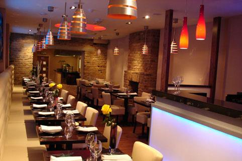 Namaaste Kitchen interior
