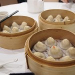 Soup dumplings at Dumplings Legend