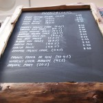 Beer and cider list at River Cottage Axminster