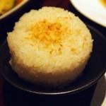 Coconut rice at Patara, Greek Street