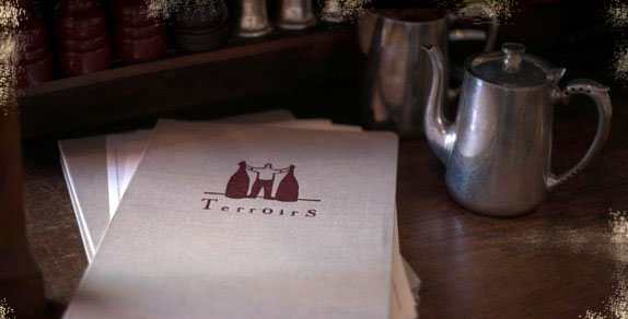 Terroirs menu