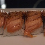 Blowtorch nigiri, sushi making at Ichi Sushi and Sashimi Bar