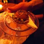 Mini burger, Pret a Diner: Italians do it better launch, Mayfair