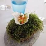 Rice crisp and vegetable tartare, Mirazur, Menton