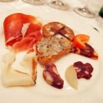Cured meats, Villa Majella, Abruzzo