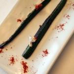 Grilled courgette, Arzak, San Sebastian