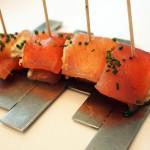 White tuna with marinated strawberries, Arzak, San Sebastian