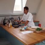 Monica Galetti demoing, Monica Galetti Experience, Cactus Kitchen