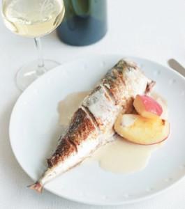 Normandy Style Roast Mackerel