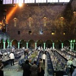 Dining hall, Bocuse d'Or gala dinner, Stockholm