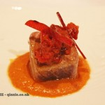 Ventresca tuna, marinated in house, Entrevins, Valencia