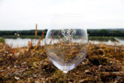Wine glass, Eric Morgat, Anjou