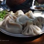 Khinkali dumplings in Georgia