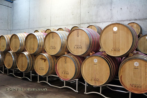 Barrels, Quinta de Sao José, Douro Valley