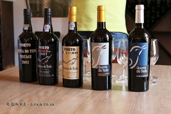 Wines, Quinta do Tedo, Douro Valley
