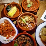 Assorted stews, Zoe's Ghana Kitchen, The King & Co