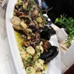 """Gnocchetti"" (potato dumplings) with mussels and clams, Portivene, Portovenere"