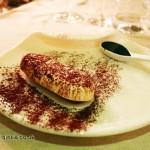 Semifreddo tiramisu, Osteria Cantine Cattaneo, Sestri Levante