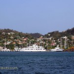 View out to St George, BBs Crabback, Grenada