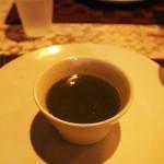 Callaloo soup, Patrick's Home Style Restaurant, Grenada