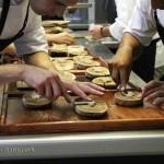 Chefs plating up, #AtxaAndreRicard at Azurmendi, Larrabetzu