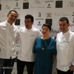 Andre Chiang, Eneko Atxa, Qin Xie, Ricard Camarena, #AtxaAndreRicard at Azurmendi, Larrabetzu