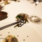 Fried seaweed, Azurmendi