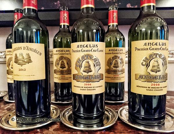 Chateau Angelus wines