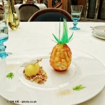 Pineapple at Celeste Restaurant, The Lanesborough, Knightsbridge
